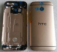 Original Backcover Akkudeckel Gehäuse Cover Deckel Schale Gold HTC One M8