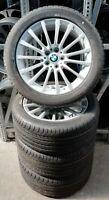 4 BMW Kompletträder Styling 619 BMW 5er G30 G31 245/45 R18 100H 6861224 RDCi NEU