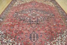 8'10 x 12'3 Finest Semi Antique Azerbaijani Hand Knotted Wool Area Rug 9 x 12