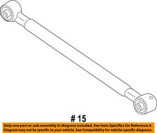 Jeep CHRYSLER OEM 17-18 Compass Rear Suspension-Front Lower Arm 68309200AA