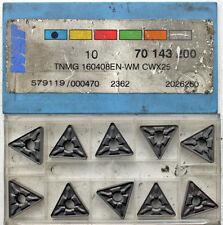 10 pezzi svolta Taglio Piastre Svolta PIASTRE Wnt TNMG 160408en-wm cwx25