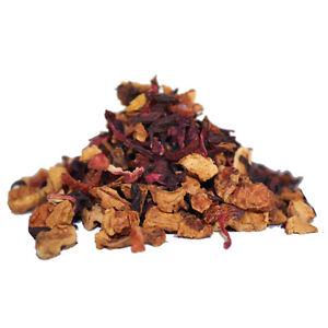 Orange and Apple Fruit Tea - Luxury Loose Leaf Tea - Caffeine-Free - 40g - 60g