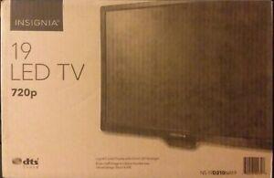 Insignia NS19D310NA21 19 inch 720p LED TV - BlackNS-19D310NA21 SEALED free shpg