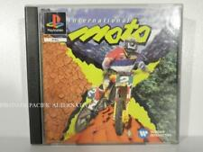 jeu INTERNATIONAL MOTO X pour Playstation 1 ps1 psx en francais complet game