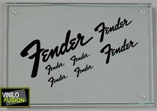 7 pegatinas de vinilo FENDER  ,no 357