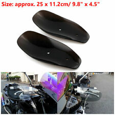 Motorcycle HandleBar Hand Guard Protector Wind Deflector Bike  ABS Plastic