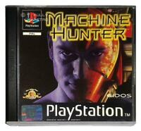 Machine Hunter Playstation 1 PS1 Game Used