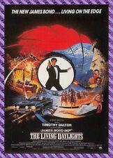 Carte Postale Affiche de Film  - The Living Dalylights