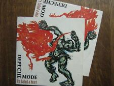 DEPECHE MODE 45 TOURS FRANCE IT'S CALLED (POSTER)