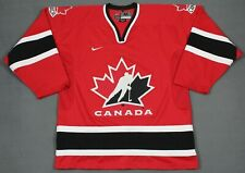 Team Canada Vintage Nike Olympic Sewn Hockey Jersey Red Medium 2002