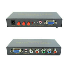 1pcs Real Scaler Function Component video (YPbPr) VGA To VGA Full HD 1080P