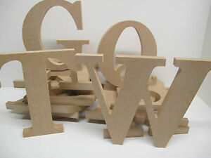 Wooden Letters Freestanding 300mm high 18mm Thick Font