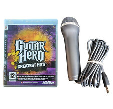 GUITAR Hero: GREATEST Hits + Microfono-PlayStation 3-libero VELOCE P & P! - MUSICA