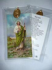 St Jude ~ Don'T Quit ~ Prayer Card & Medal