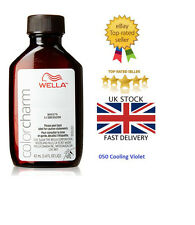 Wella 050 New Color Charm Liquid Permanent Hair Color # 050 Cooling Violet 42ml