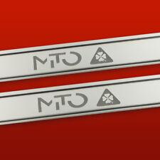 New Set 2pz Protezione soglia battitacco Alfa Romeo Mito Superficie a Specchio