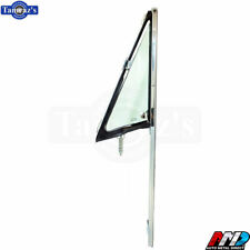 68-72 C/K Pickup Truck DOOR VENT Wing Window TINTED Glass Chrome Frame AMD LH