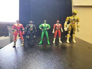 Lot Of 5 Power Rangers