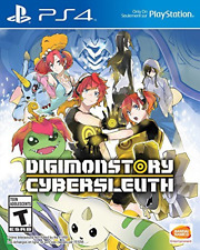 DIGIMON STORY CYBER SLEUTH PS4  (US IMPORT)  GAME NEW