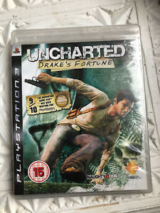 Uncharted : Drake's Fortune - Playstation 3 PS3 - New & Sealed - PAL - Rare