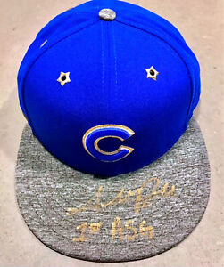 ☀️RARE☀️ Addison Russell Cubs Signed Hat 2016 World Series Autograph—Steiner COA