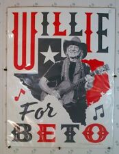WILLIE FOR BETO (2018) 28732 Benefit Concert Poster