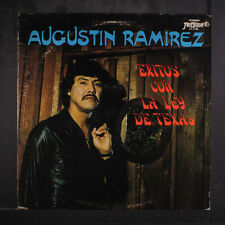 AUGUSTIN RAMIREZ: Exitos Con La Ley De Texas LP (some cover wear) Latin