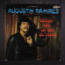 AUGUSTIN RAMIREZ: Exitos Con La Ley De Texas LP (some cover wear) Latin
