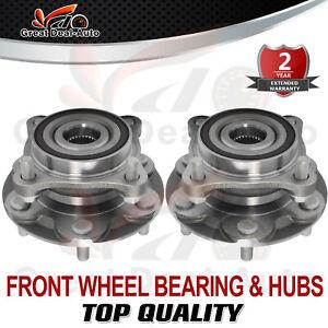 2PCS Front Wheel Bearing Hubs Hub for Toyota Landcruiser Prado 120 ABS 2003-2009