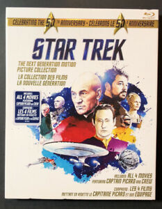 Star Trek [ The Next Generation Motion Picture Collection ] (Blu-ray Disc) NEW