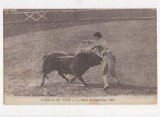 Corrida De Toros Suerte de Banderillas Spain Vintage Postcard 480a