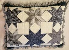 Vintage Quilted Pillow Sham Star Pattern