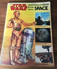 Star Wars Question and Answer Book About Space 1979