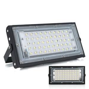 LED Floodlight Spotlight 50W Flood Light Outdoor Garden Waterproof Street Lamp