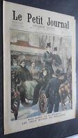 JOURNAL LE PETIT PARISIEN N°389 DIMANCHE 1ER MAI 1898 ABE