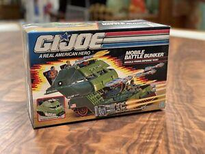 Vintage GI Joe 1989 Mobile Battle Bunker Vehicle MIP