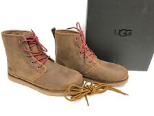 UGG Australia Harkley Waterproof Lace Up Boot 1017238 Grizzly Brown Men's sizes