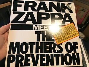 Frank Zappa - Meets the Mothers of Prevention US LP Promo (Ex ++)