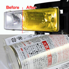 VANS Yellow Tint Lens Tail Head Fog Coner Light Side Marker Painter Spray DIY C