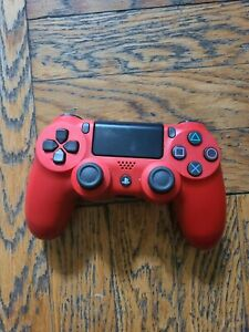 Red PlayStation4 Dualshock 4 Wireless Controller for Sony PS4  CUH ZCT2U