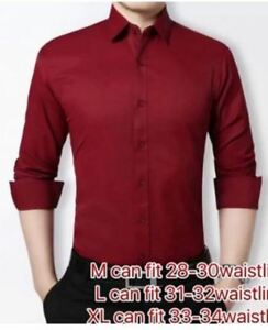 MEN FORMAL LONG-SLEEVE