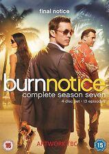 Burn Notice Complete Series 7 DVD All Episode Seventh Season Original UK NEW R2