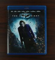 THE DARK KNIGHT  ~ BLU-RAY 2 disc set ~ Very Good Condition