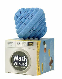 AUTHENTIC Wash Wizard Laundry Ball Top Eco Friendly 1500 Washer Ball USA SELLER