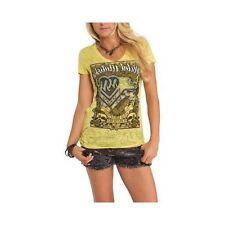 Metal Mulisha Ladies Essence Tee Size S Pink