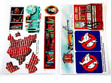 Kenner Fire House THE REAL GHOSTBUSTERS 'DIE CUT' REPLACEMENT STICKERS - Nice!