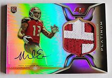 2014 Mike Evans Topps Platinum Awesome Patch Auto Autograph RC Rookie Refractor