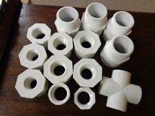 Lot of 14 Lasco MISC. Reducer Bushings SCH 40 PVC