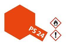 Tamiya Lexan Sprühfarbe PS-24 Neon Orange Polycarbonat 100ml - 86024