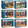 """ZVEZDA Model Kits """"Soldiers of French Army, Napoleonic Wars 1804-1815 year"""""""